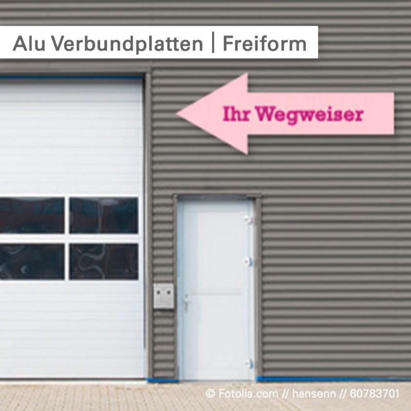 Alu-Verbundplatten – günstig und in Freiform bestellen bei SalierDruck.de