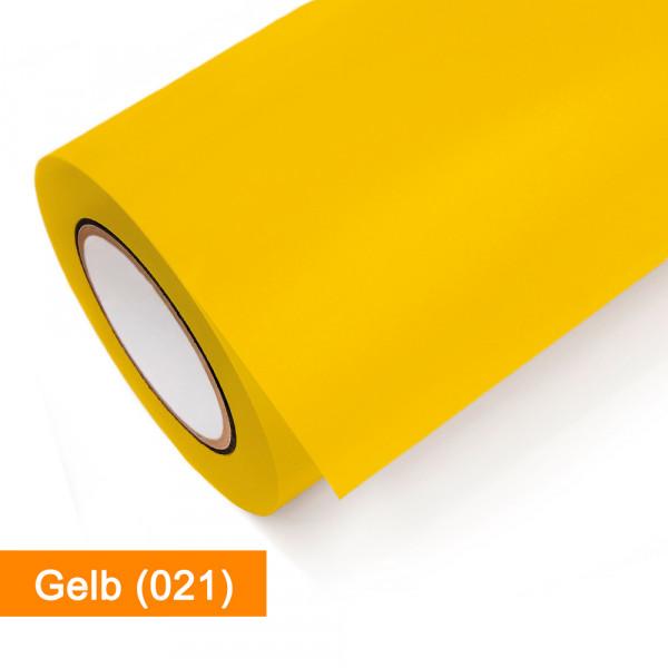 Plotterfolie Oracal - 751C-021 Gelb - günstig bei SalierShop.de