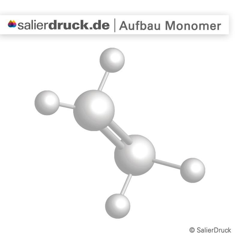 Monomere Klebefolie – Struktur | SalierDruck