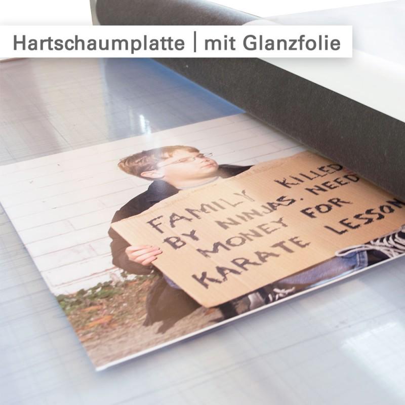 Hartschaumplatten bedrucken – Werbeschilder und Dekorationen für innen – SalierDruck.de
