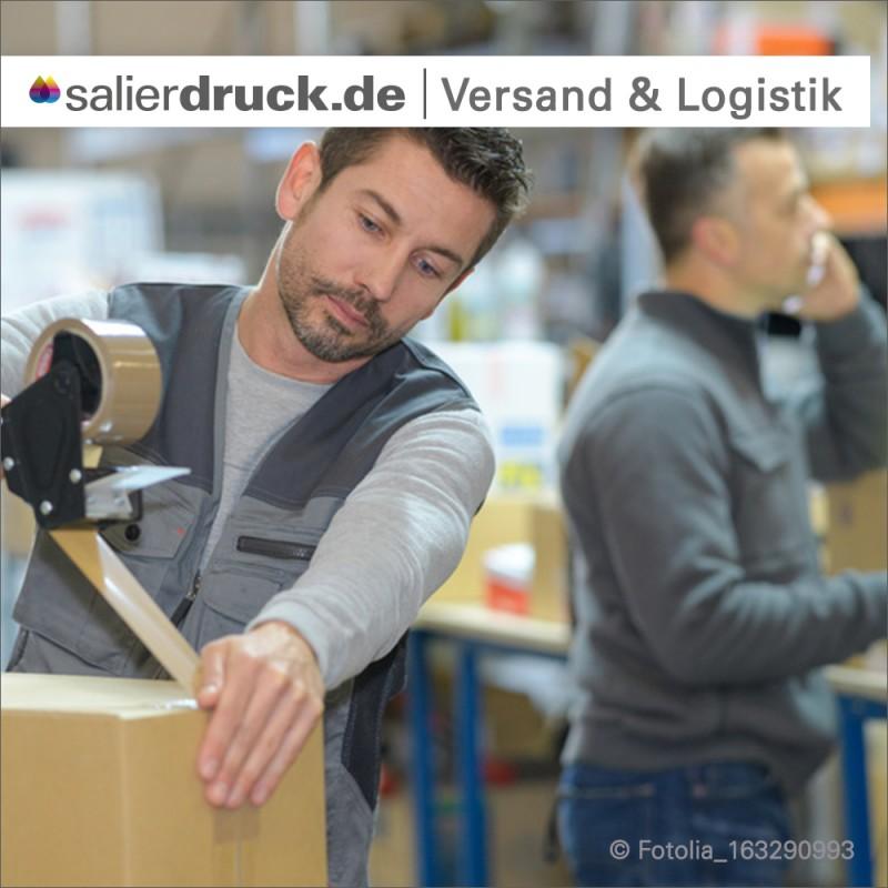 Ein gutes Management in Produktion, Versand und Logistik ist das A und O, auch in einer gut laufenden Druckerei.