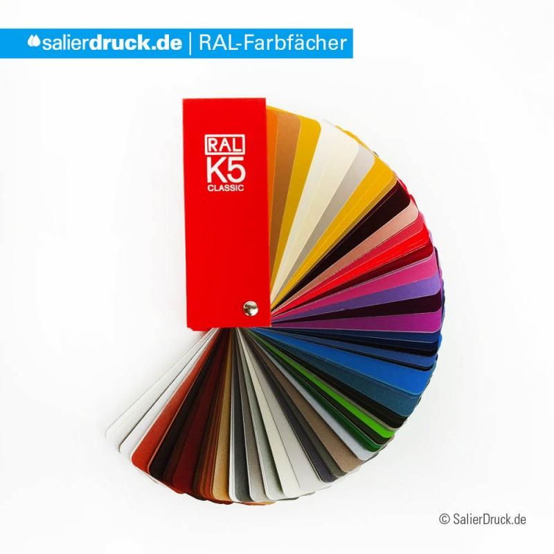 Der RAL Farbfächer | SalierDruck.de