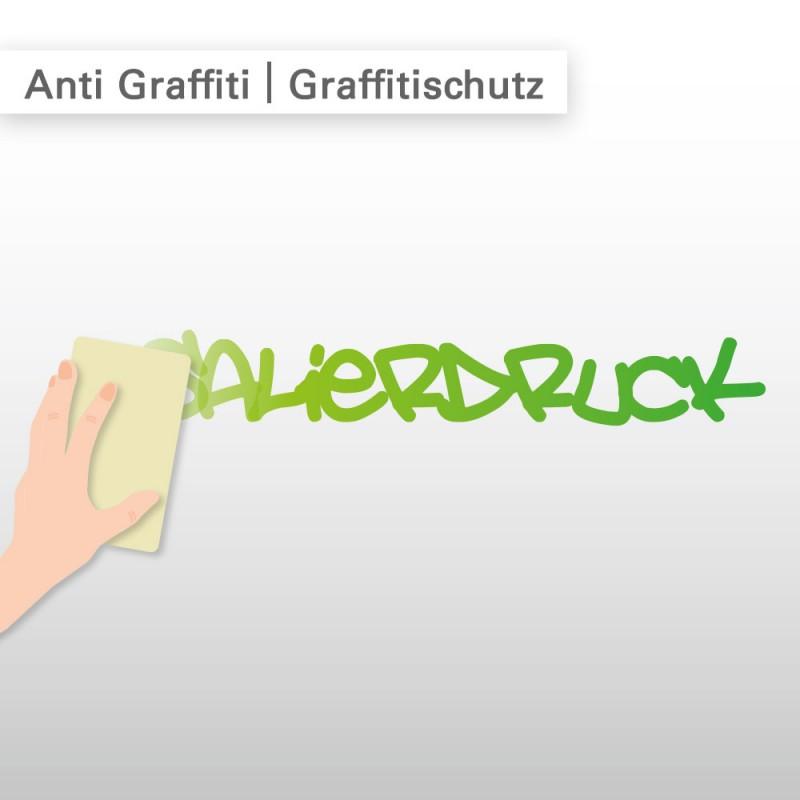 Anti Graffiti Aufkleber – Graffitischutz – SalierDruck.de