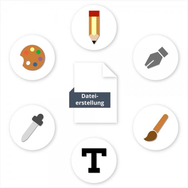 Benötigen Sie Hilfe bei der Erstellung Ihrer Druckdatei? Dürfen wir für Sie ein Design Projekt verwirklichen? Für jeden Einsatz haben wir die passende Lösung für Ihre Datei.   Dateierstellung bei SalierDruck.de