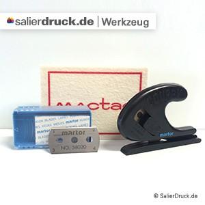 Folien und Zubehör - Werkzeuge bestellen bei SalierDruck.de