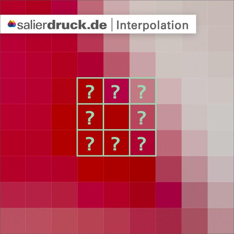 Interpolation und seine Funktionsweise – Lexikon SalierDruck