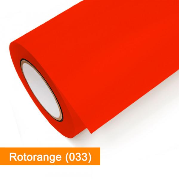 Plotterfolie Oracal - 751C-033 Rotorange - günstig bei SalierShop.de