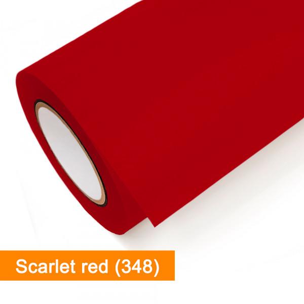 Plotterfolie Oracal - 751C-348 Scarlet Red - günstig bei SalierShop.de