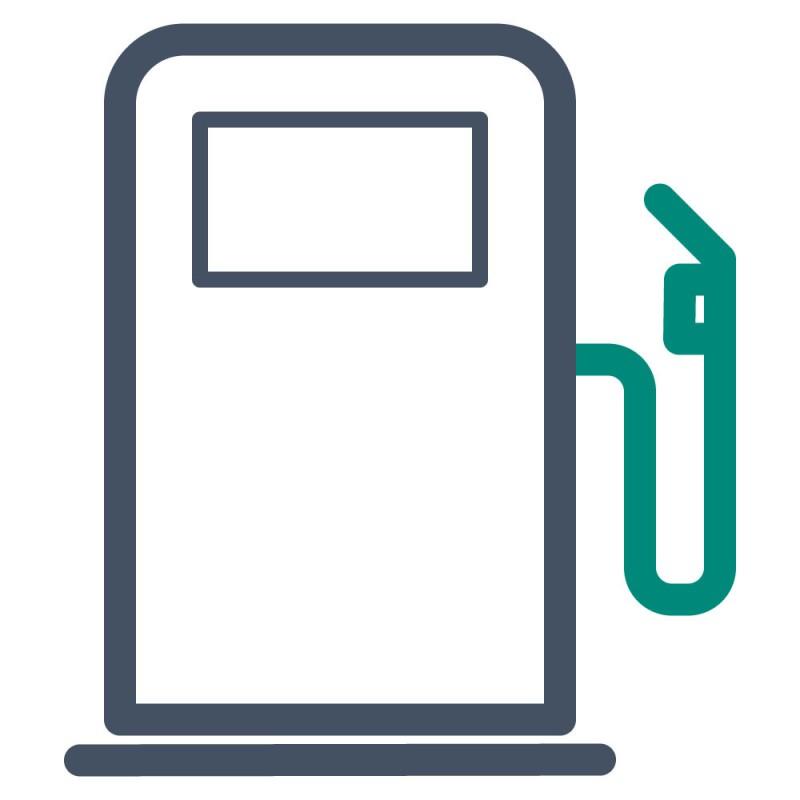 An Orten, an denen die Klebefolie oft Treibstoffen ausgesetzt ist, empfehlen wir die Verwendung von benzinbeständigen Aufklebern.