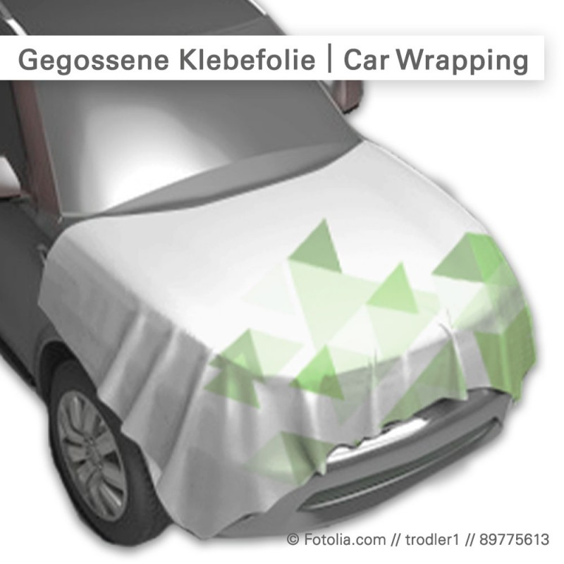 Gegossene Klebefolie – Car Wrapping – SalierDruck.de