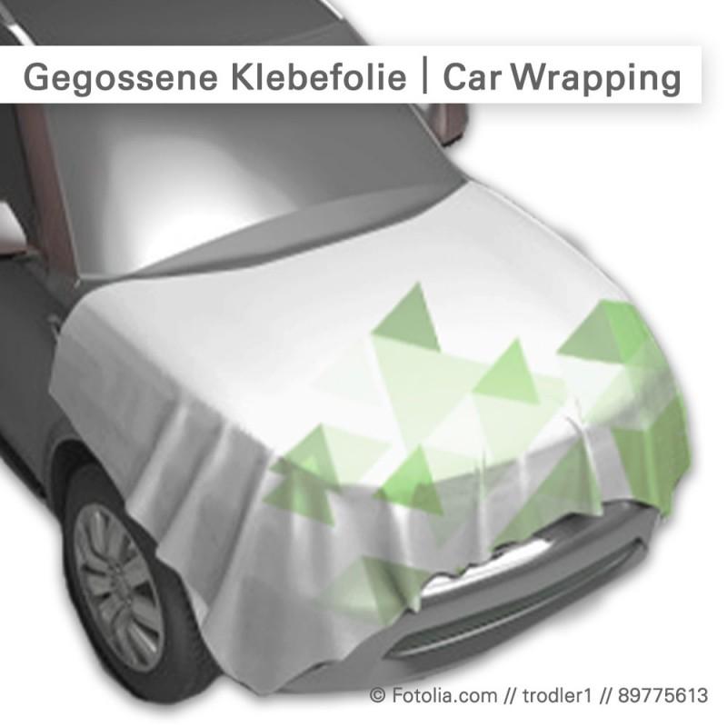 Gegossene Folie für Car Wrapping individuell bedruckt bei SalierDruck.de