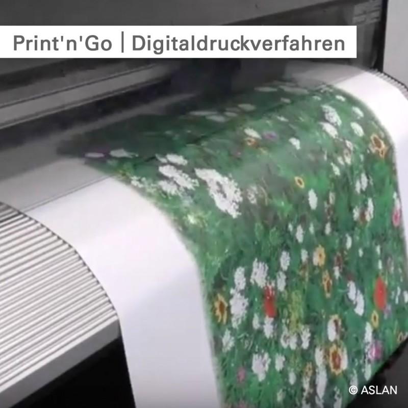 Fußbodenaufkleber individuell bedruckt - SalierDruck.de