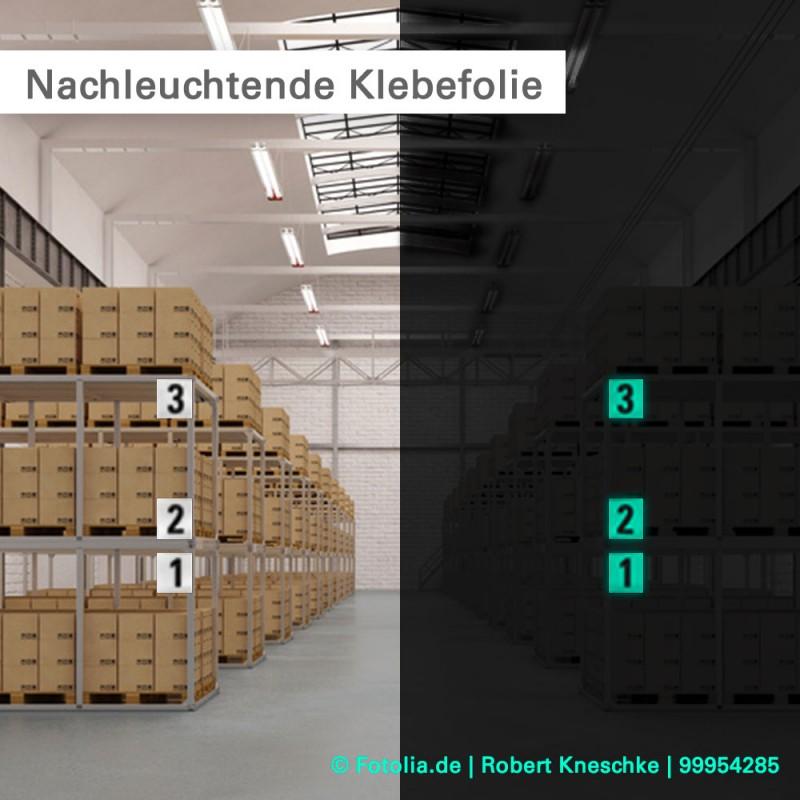 Leuchtaufkleber individuell drucken - kalkulieren Sie dierekt online bei SalierDruck.de
