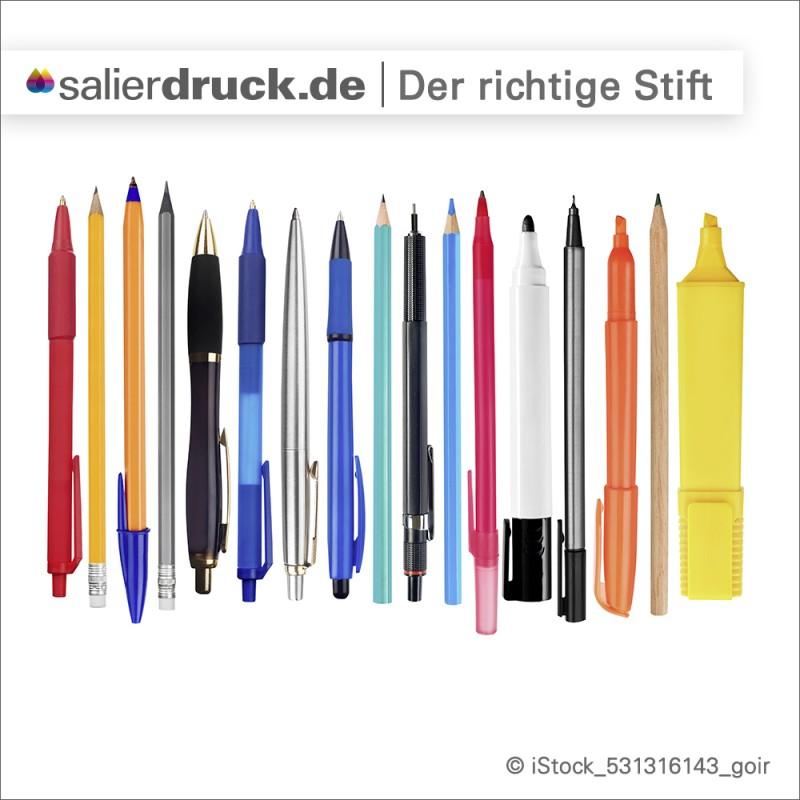 Welcher Stift ist der Richtige zum Beschriften meiner Aufkleber?