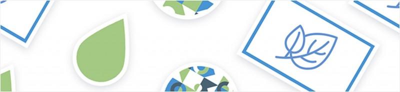 Umweltfreundliche Etiketten bestehen aus PVC-freiem Material.