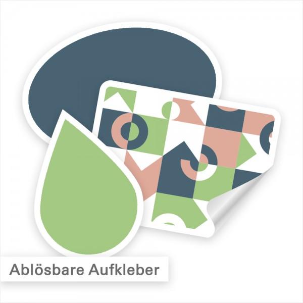 Ablösbare Aufkleber – haften fest, bis man ihn ablöst | SalierDruck.de