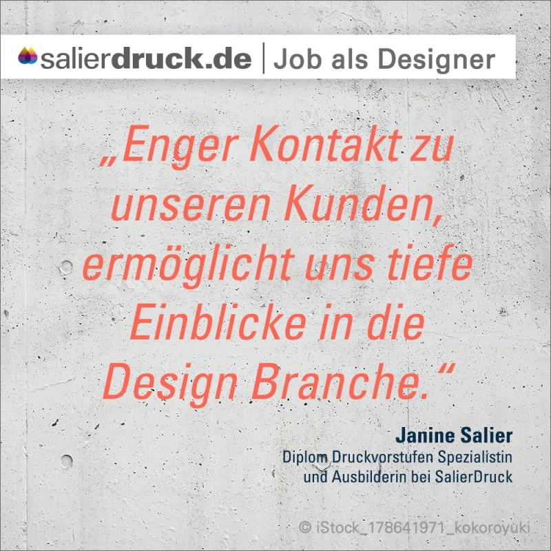 """""""Enger Kontakt zu unseren Kunden, ermöglicht uns tiefe Einblicke in die Design Branche."""""""