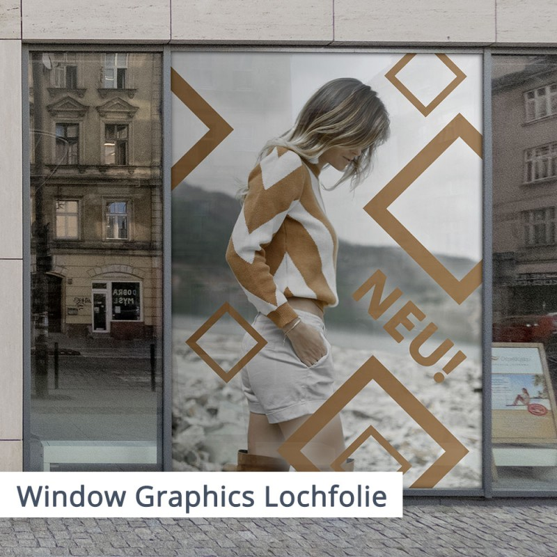 Window Graphics Lochfolie | SalierDruck.de