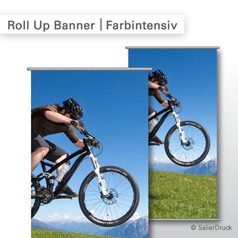 Roll Up Banner – farbintensiver Druck | SalierDruck.de