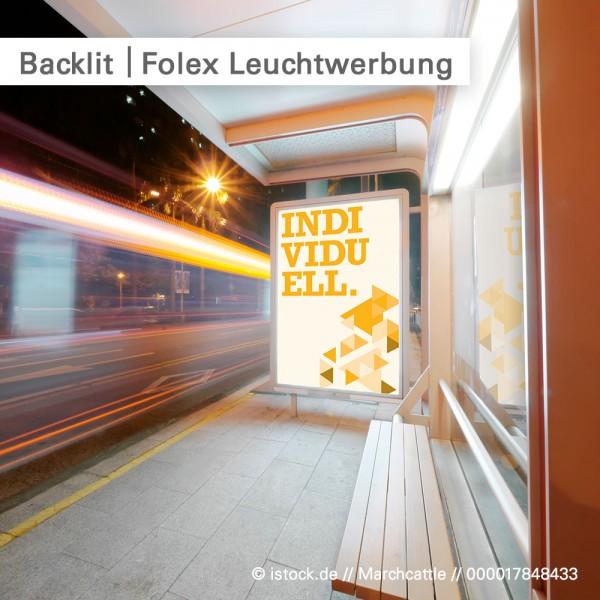 Backlit Folie individuell bedruckt schnell und günstig bei SalierDruck.de