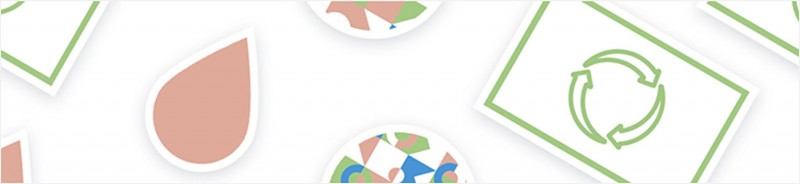 Wiederverwendbare Sticker haften auf glatten Oberflächen mithilfe von Saugnapf-Technologie, ganz ohne Klebstoff.