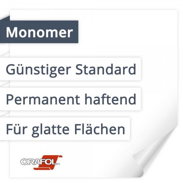 Orafol Orajet 3164 Monomer   Günstiger Standard   Permanent haftend   Für glatte Flächen