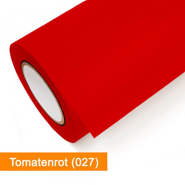 Plotterfolie Oracal - 751C-027 Tomatenrot - günstig bei SalierShop.de