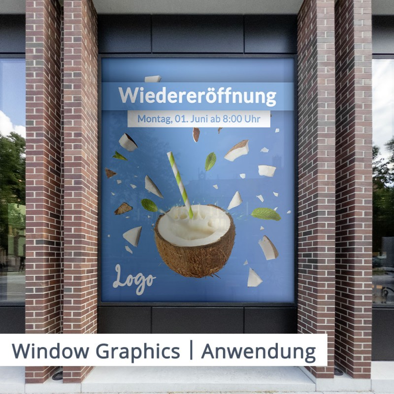 3676 Window Graphics Lochfolie – Folienoberfläche – SalierDruck.de