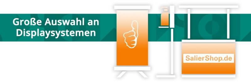 Displaysysteme in großer Auswahl | Jetzt online auf SalierShop.de