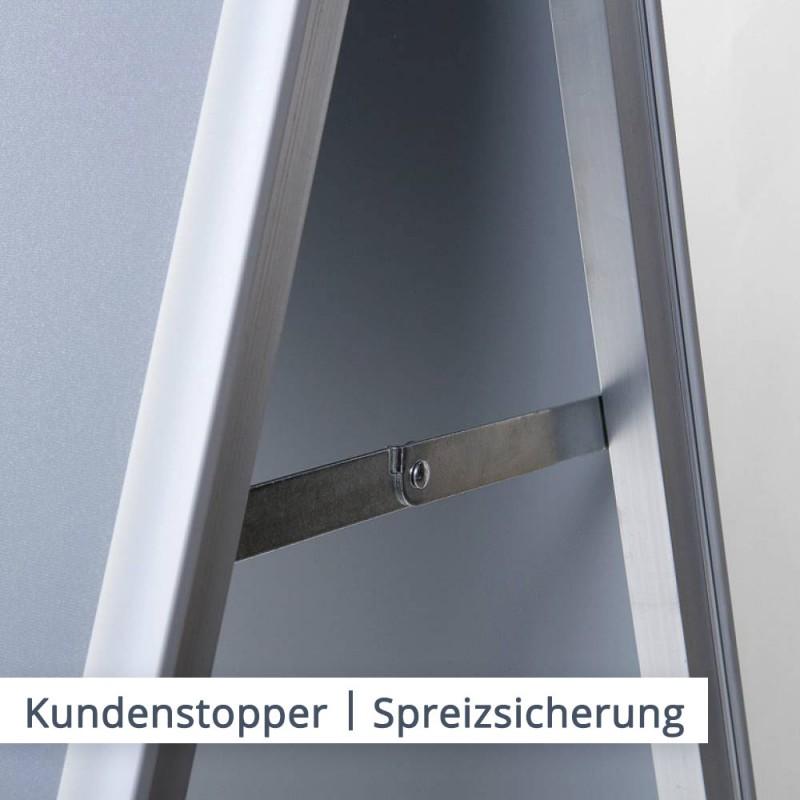 Eine Spreizsicherung sorgt für sicheren Halt | SalierDruck.de