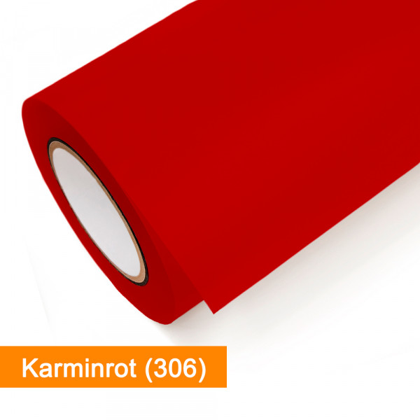 Plotterfolie Oracal - 751C-306 Karminrot - günstig bei SalierShop.de