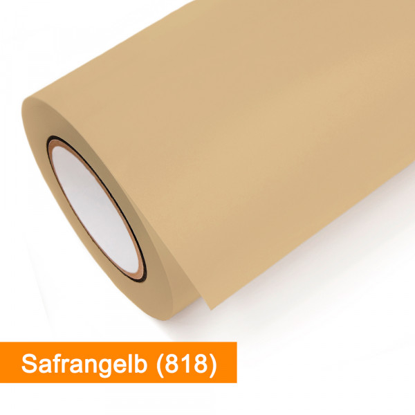 Plotterfolie Oracal - 631-818 Safrangelb - günstig bei SalierShop.de