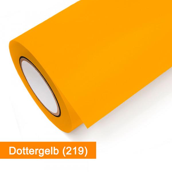 Plotterfolie Oracal - 751C-219 Dottergelb - günstig bei SalierShop.de