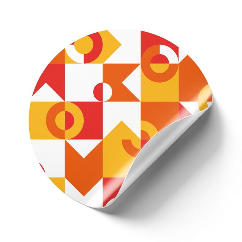 Floor Graphics für glatte Oberflächen können auf Fliesen oder polierten Steinböden verwendet werden.