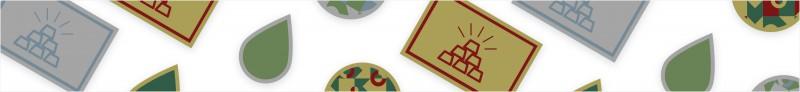 Sticker, die auf goldene oder silberne Klebefolie gedruckt werden, sind besonders außergewöhnlich und sehen edel aus.