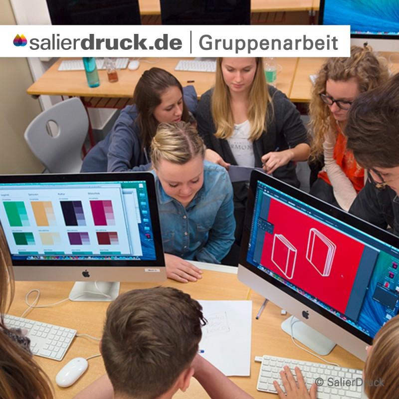 Gruppenarbeit ist von der Konzeptionierung bis zum fertigen Produkt das Wichtigste.