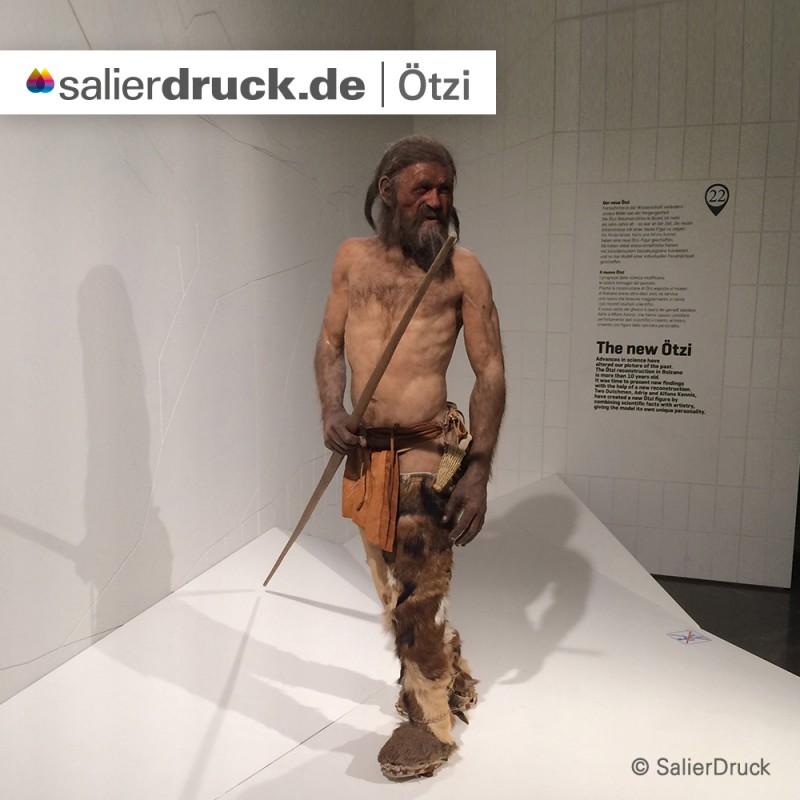 Ötzi – auch bekannt als der Mann aus dem Eis.