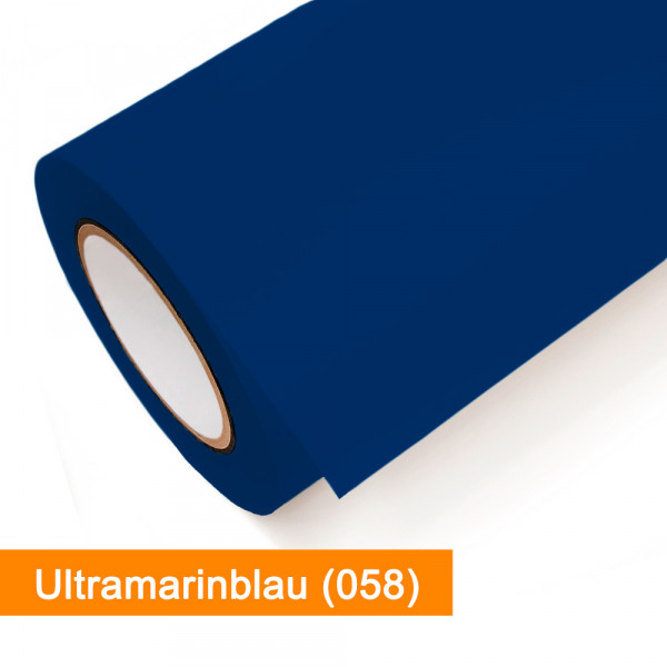 Plotterfolie Oracal - 751C-058 Ultramarinblau - günstig bei SalierShop.de