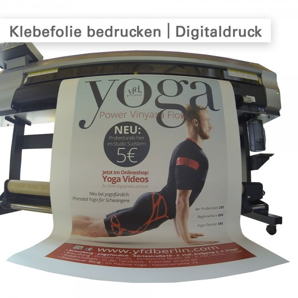 Klebefolien bedrucken - individuell bei SalierDruck.de