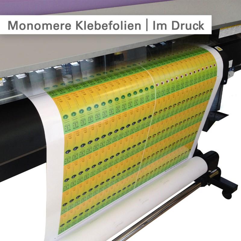 Monomere Klebefolie – Im Druck – SalierDruck.de