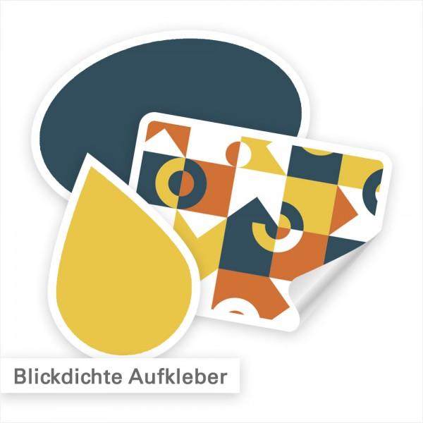 Blickdichte Aufkleber – Verbergen, was überklebt werden sollte | SalierDruck.de