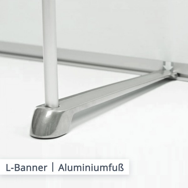 L-Banner Aluminiumfuß