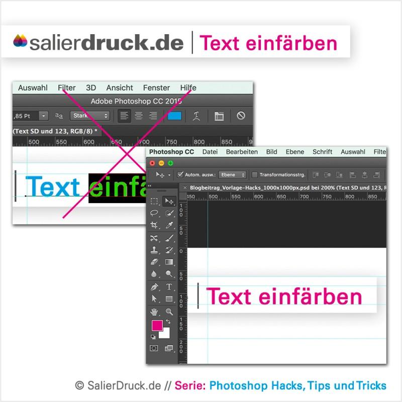 Nutzt du immernoch den umständlichen Weg zum Texte einfärben? Wir zeigen dir wie einfach das geht.