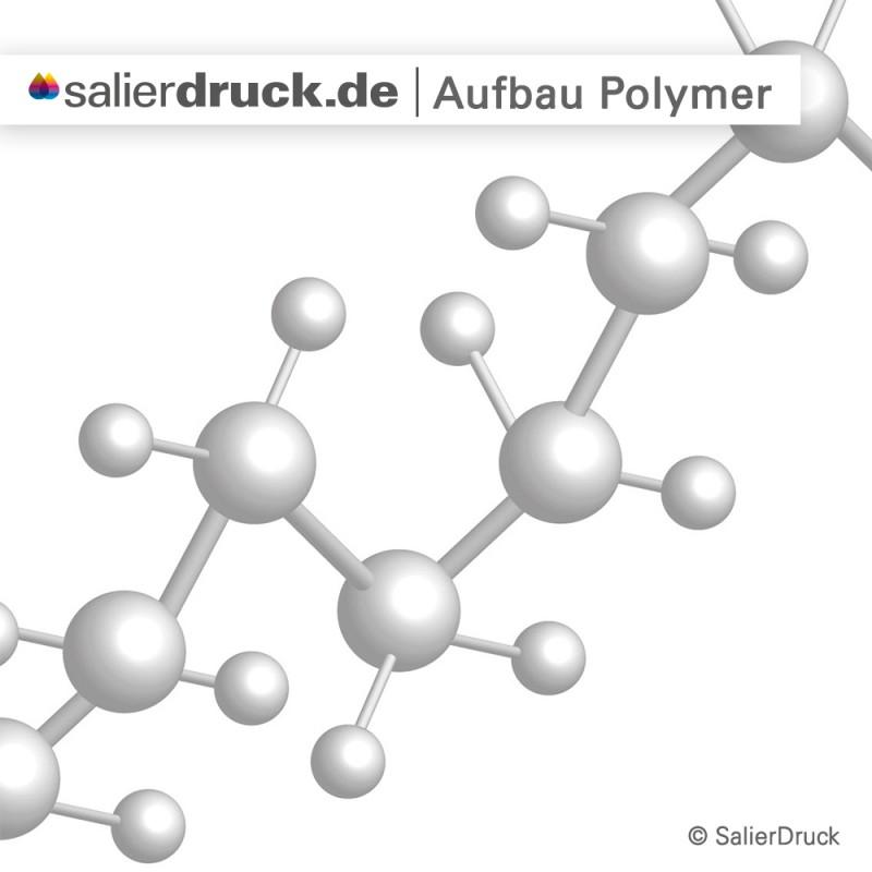 Polymere Klebefolie – Struktur | SalierDruck