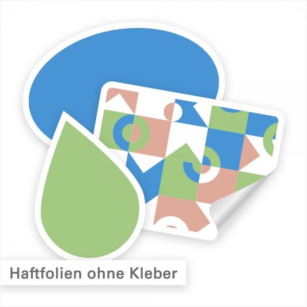 Haftfolie - Kleben ohne Kleber! Individuell bedruckte Haftfolie bei SalierDruck.de