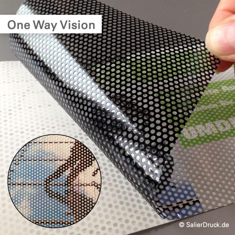 One Way Vision Fahrzeugaufkleber – SalierDruck.de
