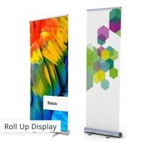 Bei unserer Auswahl an Roll-Up Displaysystemen ist für jeden das Passende dabei! Einfach & schnell aufgebaut.