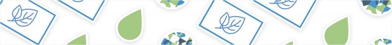 Die individuell gestalteten umweltfreundlichen Sticker sind schadstoffarm und leicht recyclebar.