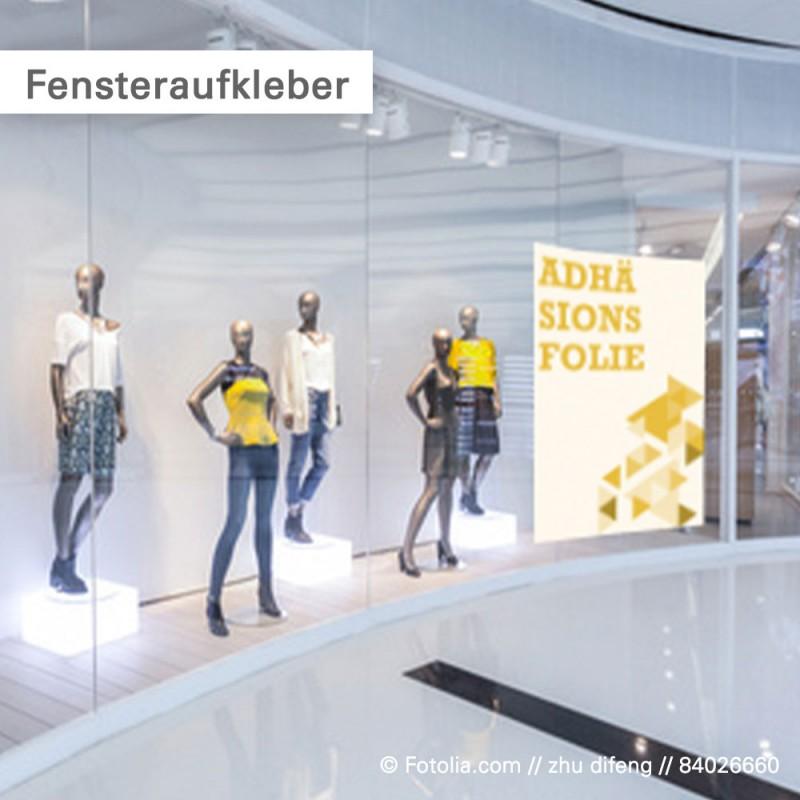Aufkleber drucken – Fensterdekor | SalierDruck.de