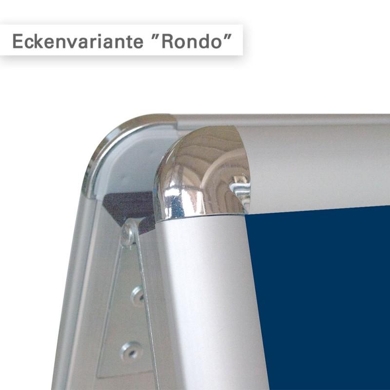 Kundenstopper A1 Variante Rondo für innen und außen - direkt online bestellen bei SalierDruck.de.